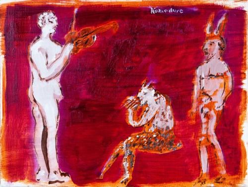 Apollo and Marsyas, 2010 - Bill Komodore