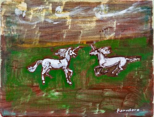 Frollicsome Unicorns, 2010 - Bill Komodore